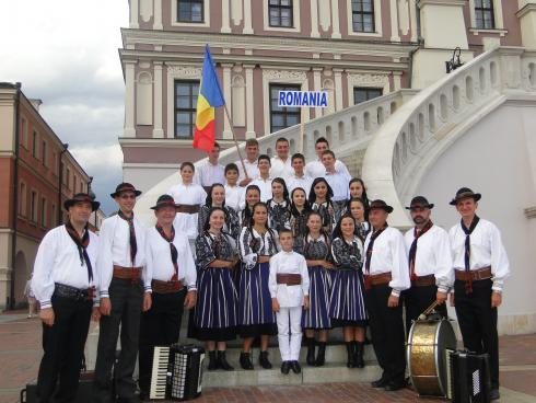 Ansamblul Folcloric Sinca Noua - 2012, Polonia, Zamosc - Reprezentam Romania