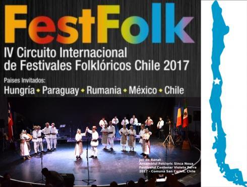FestFolk - IV Circuito Internacional de Festivales Folkloricos Chile 2017
